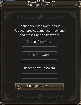 l2j sunrise change password feature