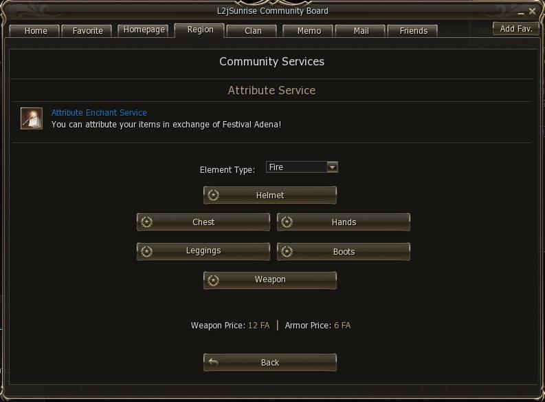 l2j sunrise community attribute service